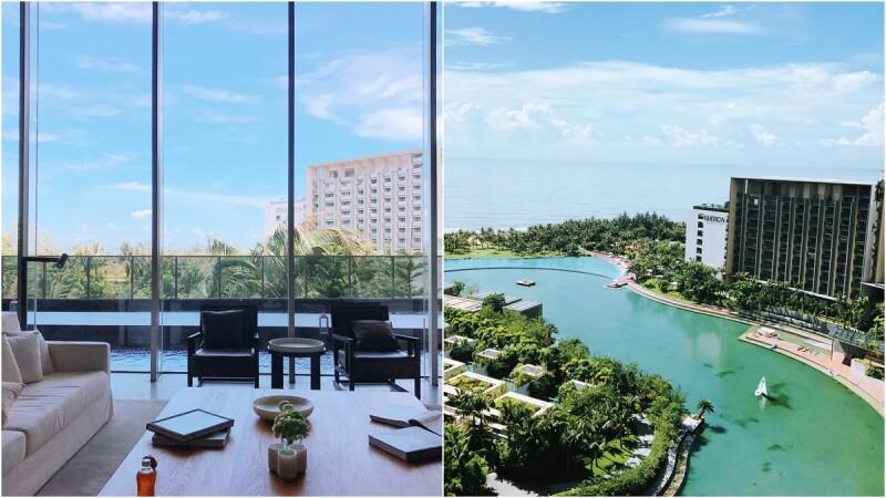 超美私人海洋、小型水樂園、獨棟別墅開派對的海島度假法!夏天就到三亞艾迪遜酒店玩吧