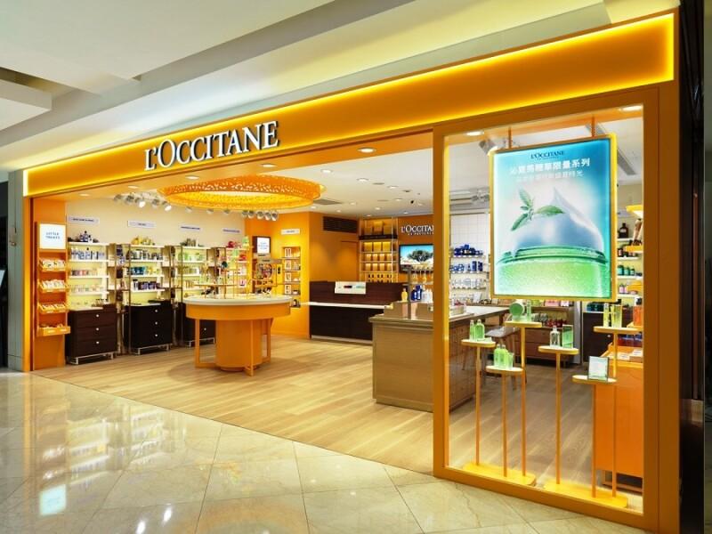 歐舒丹最新Sunshine概念店,擁有全台第一個圓形中島體驗區