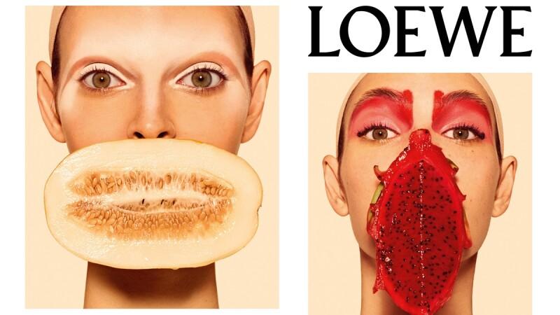 巴黎城市內500座報刊亭佈滿新鮮水果照?Steven Meisel強力詮釋LOEWE 2018春夏形象大片