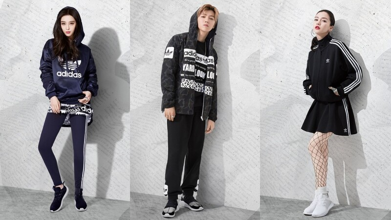 范冰冰、鹿晗、Angelababy重磅帶領Tubular鞋款回歸!adidas Originals秋冬進化版登場