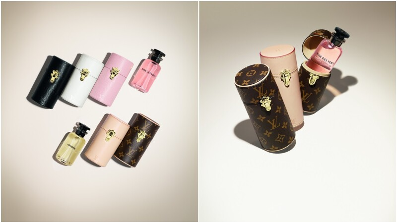 時髦黑、純淨白、粉嫩紅、經典Monogram帆布…路易威登再推全新系列旅行裝香水盒