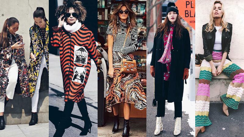 跟著IG時尚女孩玩穿搭!秋冬度假就用色彩圖紋成為時髦焦點!