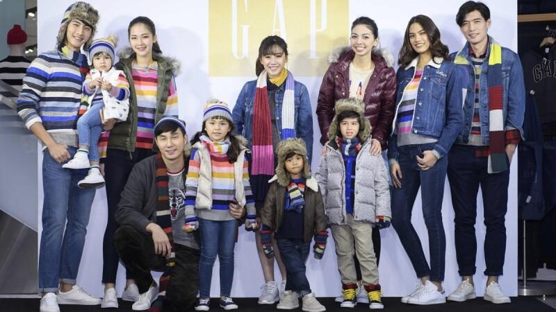 GAP線上商店改版上線!首波秋冬新品帶來彩色條紋系列服飾