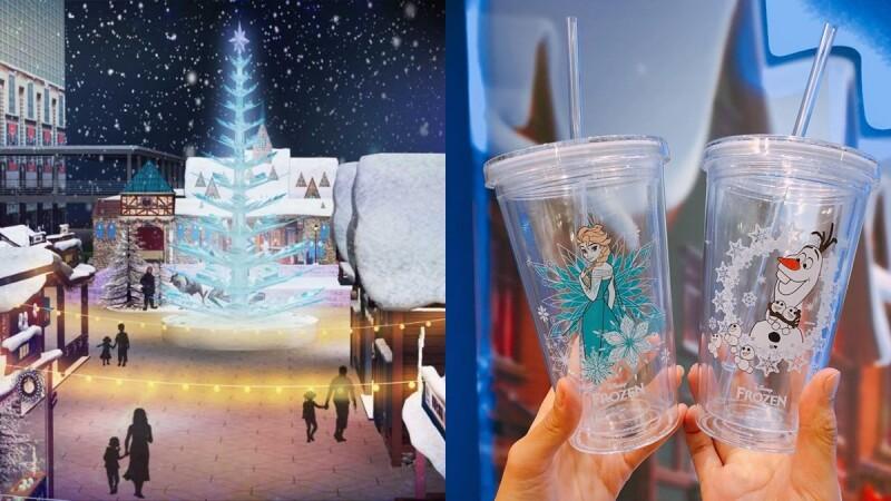 今年一定要衝的12米高冰晶聖誕樹!全球首創「冰雪奇緣主題嘉年華」降臨台北101