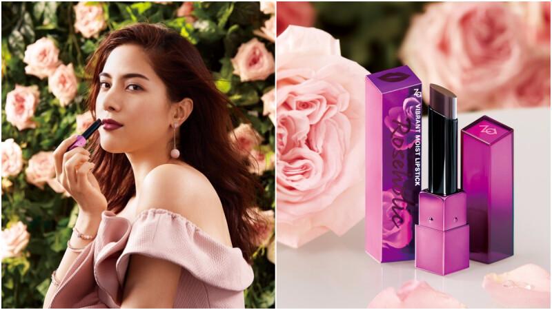 必收限定款「#RD623性感又時髦爆表的暗黑玫瑰」Za全新推出10色浪漫滿點「玫瑰控唇膏」!