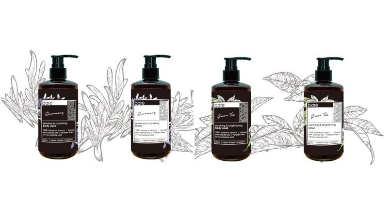 到新加坡不只要買小CK,這個美體品牌也在掃貨名單內!超人氣天然草本bare for bare正式登台