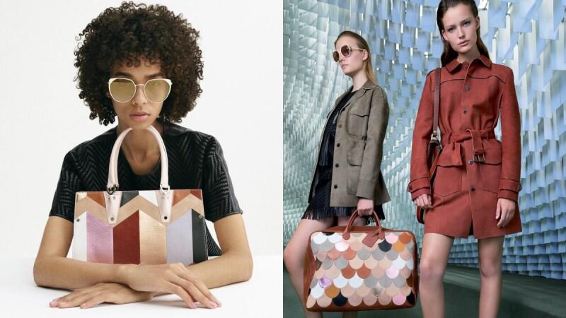 Longchamp18夏季系列,將各式皮具與時裝化作美麗的旅行邀約!