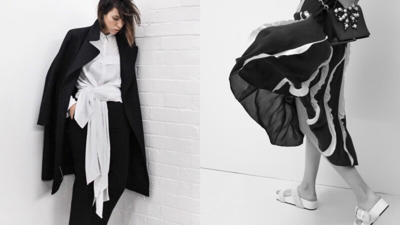 "【Fashion Lesson】以最初的本色""黑&白"" 開啟嶄新的一年!"
