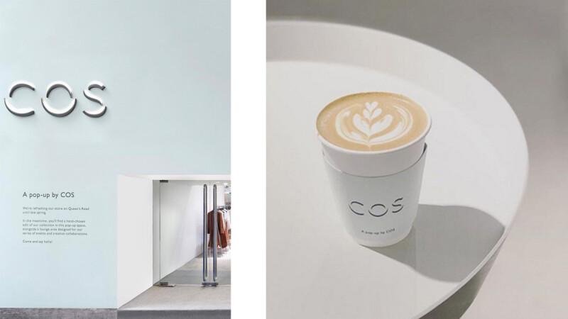 香港中環 COS 咖啡吧快閃店正式開幕!另設有藝術展示空間的兩層樓空間優雅又療癒!