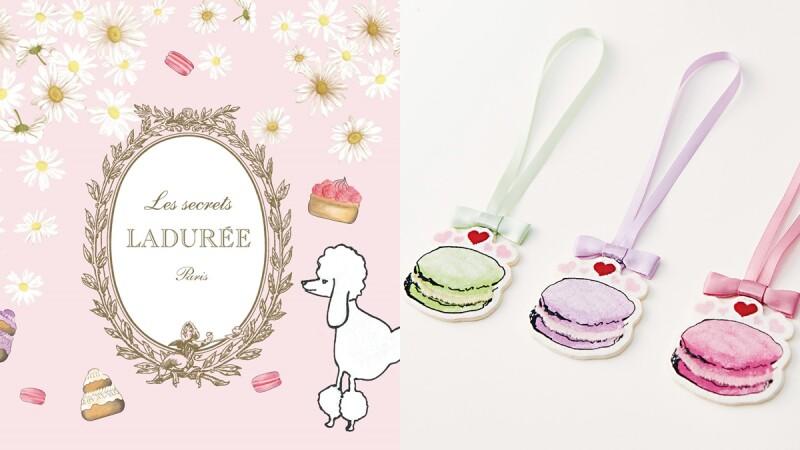 馬卡龍、馬芬蛋糕的印花小吊飾太可愛!UNIQLO與法國糕點茶室Les secrets LADURÉE推出UT系列童裝