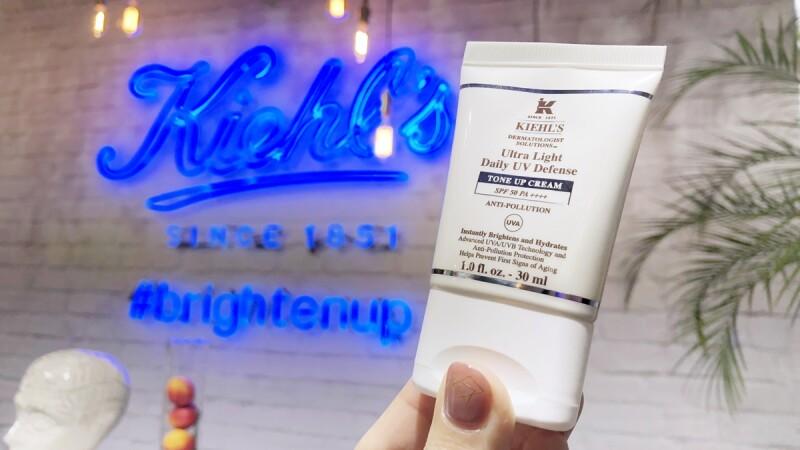 擦防曬也能「發光」不黯沉!Kiehl's把素顏霜+防曬二合一,打造夏日最強好氣色防曬