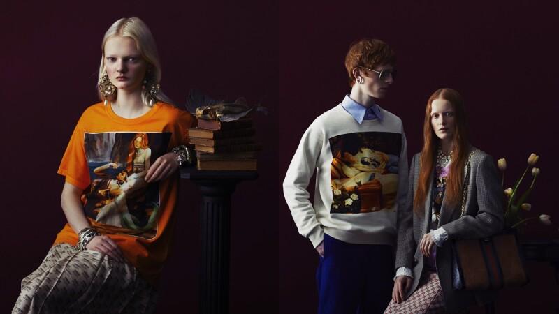 內行人才懂的奇幻幽默感!Gucci 與西班牙藝術家 Ignasi Monreal 攜手合作春夏限量服裝系列。