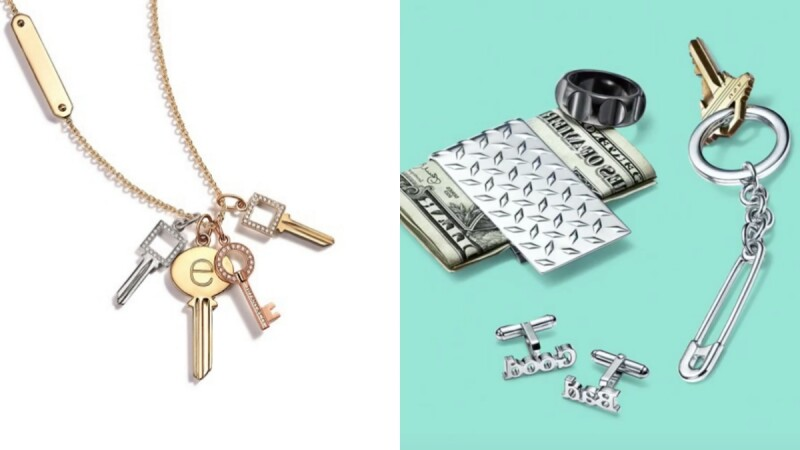 全新Tiffany Modern Keys系列, 以極致的簡約輪廓添增新潮摩登特色!