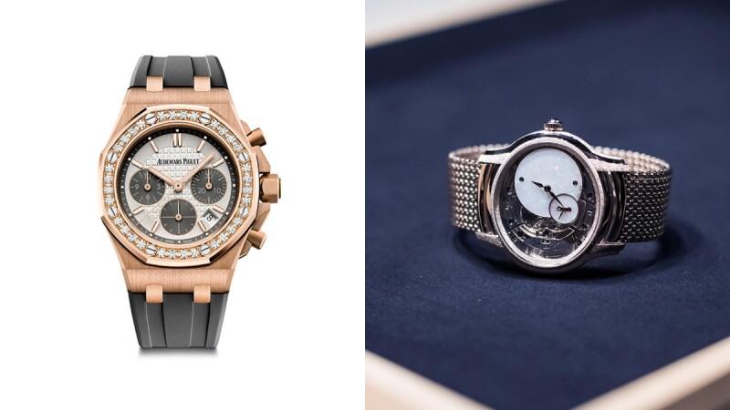 瑞士鐘錶品牌愛彼Audemars Piguet,以前衛美學視角為獨立自主的都會女性打造專屬的時計作品!