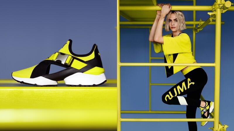 金屬扣帶、鏤空設計超吸睛!卡拉詮釋PUMA最新款帥鞋,辣度再升級
