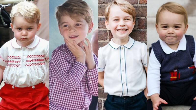 英國皇室最佳軟萌實力擔當!巨蟹座喬治小王子,5歲生日快樂~
