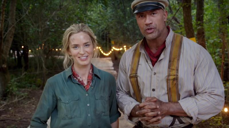 《叢林奇航Jungle Cruise》迪士尼樂園人氣設施改編成電影啦!巨石強森攜手艾蜜莉布朗主演,再度深入叢林河流探險