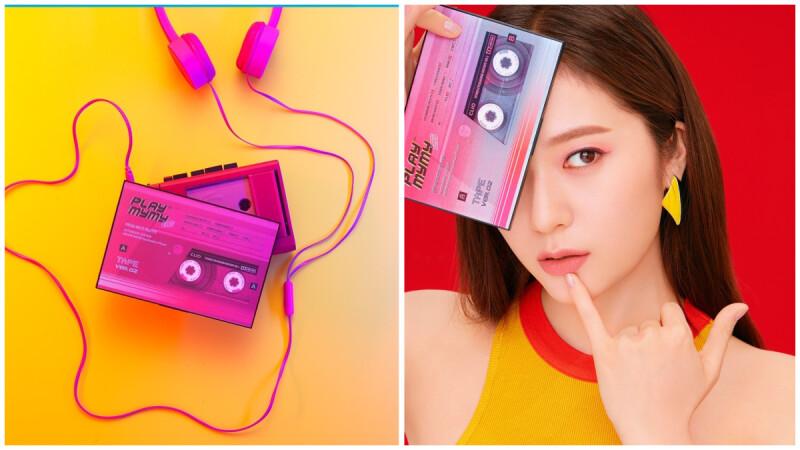 「外表是錄音帶造型,打開來竟然是14色眼影盤」CLIO來台6週年,特製限量錄音機禮盒送鐵粉