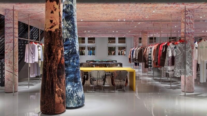 【直擊品牌總部】Calvin Klein 美國夢的藝術展場