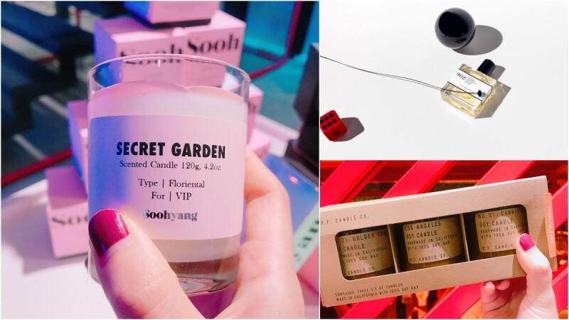 獨家引進韓國、法國、洛杉磯3個獨立香氛品牌!紅遍韓國「Soohyang秀香」香氛蠟燭、擴香片、車用香氛抵台,價格、品項、熱賣香調全公開