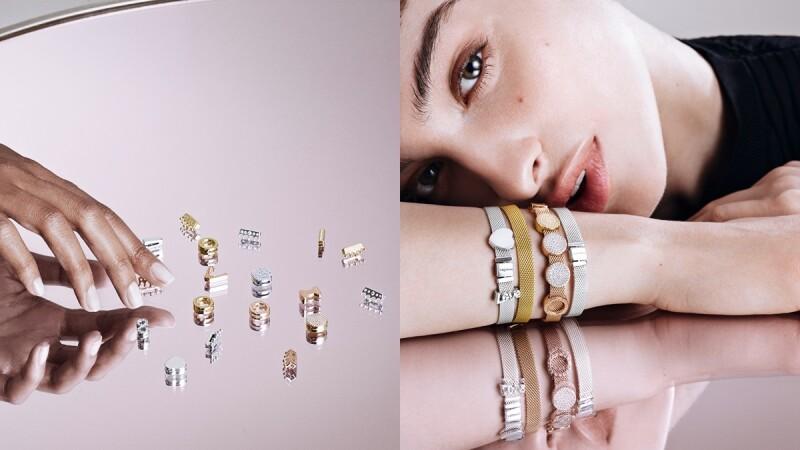 玫瑰金、925銀編織手鏈也能釦上串飾太美了!PANDORA Reflexions全新系列快閃店登復興Sogo