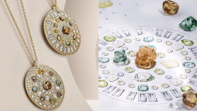 鑽石控要收!彩色鑽石、原石與拋光鑽石…都收進De Beers 最新Talisman系列四季主題新作裡!