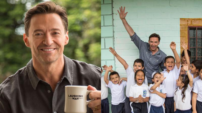 成立基金會協助非洲咖啡小農脫貧,休傑克曼:「盡一己之力,翻轉社會底層飢餓與壓迫問題。」