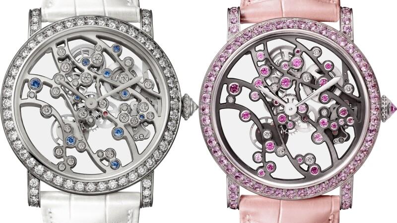 結合鏤空機芯與日本庭園四季美景,Cartier卡地亞推出全新Jardins Japonais系列複雜工藝腕錶