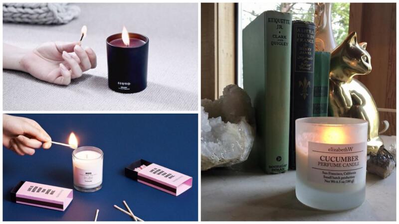 浪漫療癒的香氣靈感,行家私藏香氛蠟燭品牌推薦,為你的生活質感加分!