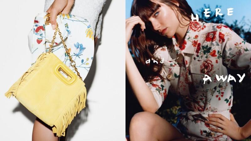春夏季節裡的浪漫氣息與甜潤姿色都在Maje全新系列!粉彩色流蘇手袋更是必收款!