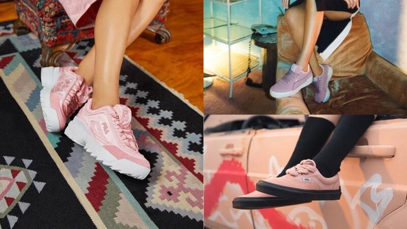 春天就是要「微霧櫻花粉」!直接鎖定New Balance、FILA、PUMA、REEBOK、adidas Originals…這8雙夢寐以求的粉嫩鞋款