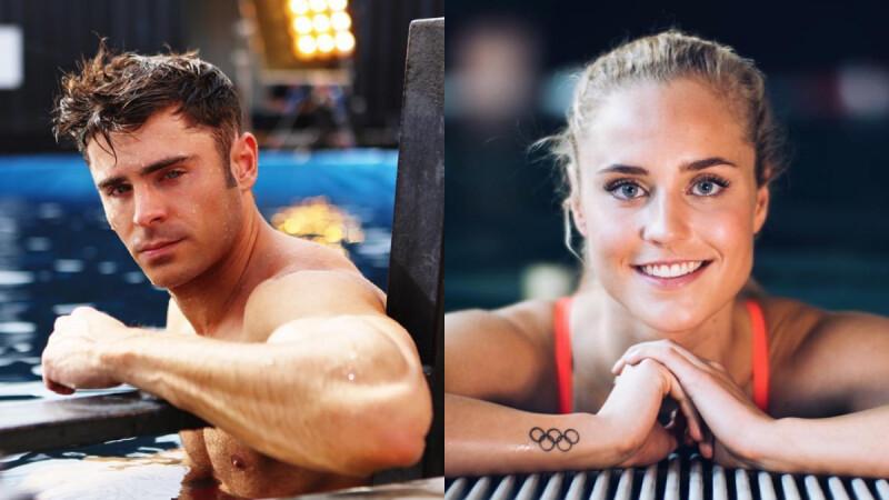 男神有新戀情?柴克艾弗隆傳與23歲奧運泳將Sarah Bro約會中