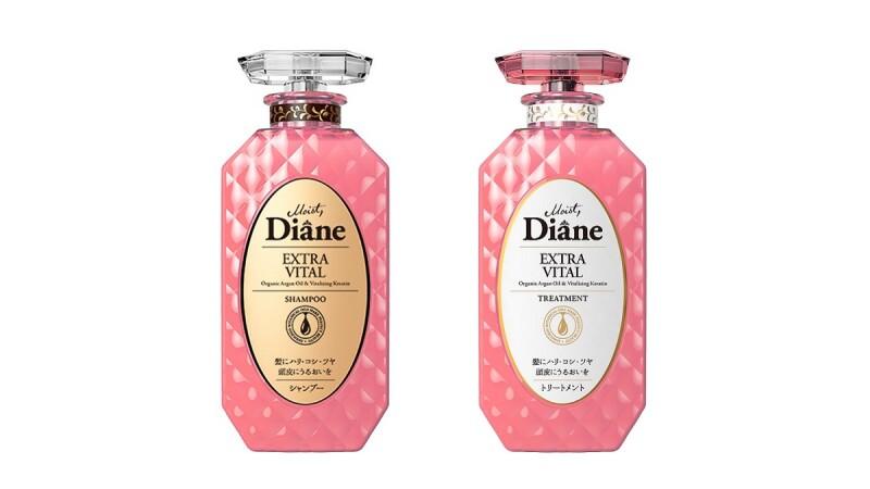 日本大賞熱銷NO.1!Moist Diane黛絲恩 春櫻花限定版-完美賦活 極潤修護系列 粉色浪漫上市