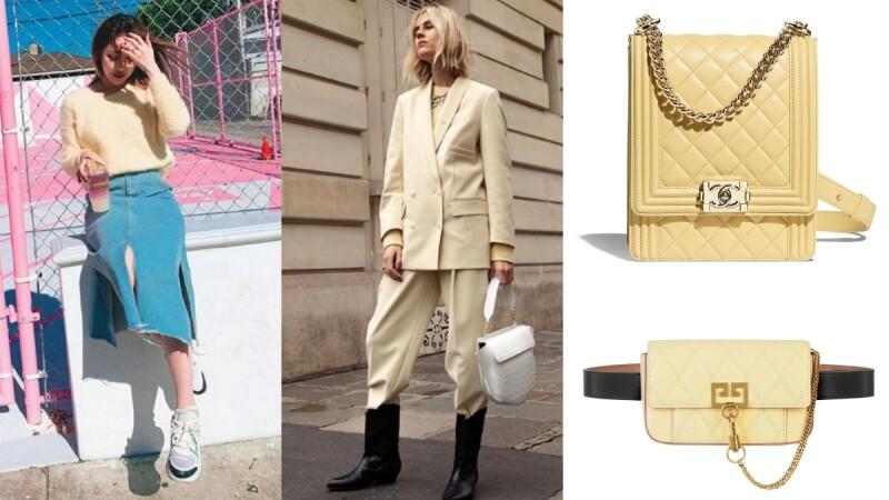 時尚達人都在穿的鵝黃色這樣穿最時髦迷人!使你輕鬆襯托典雅的高端品味!