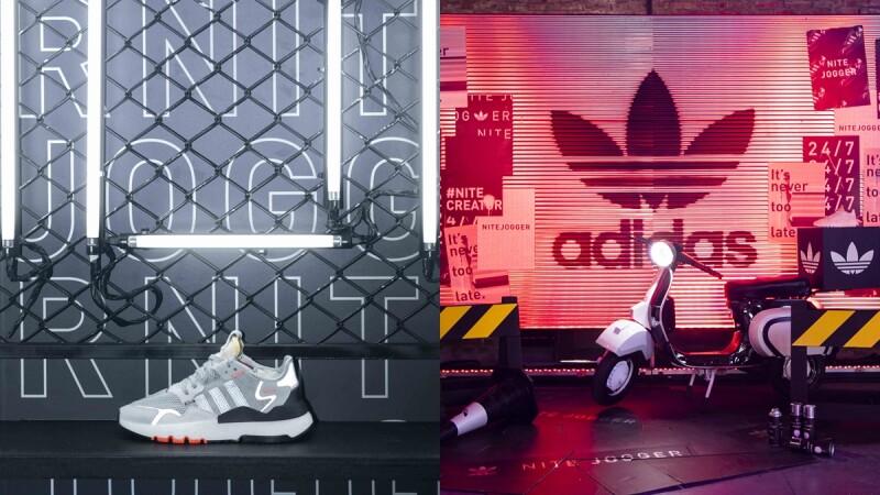 adidas Originals打造一日限定便利商店!新鞋款NITE JOGGER發布會現場究竟藏什麼玄機?