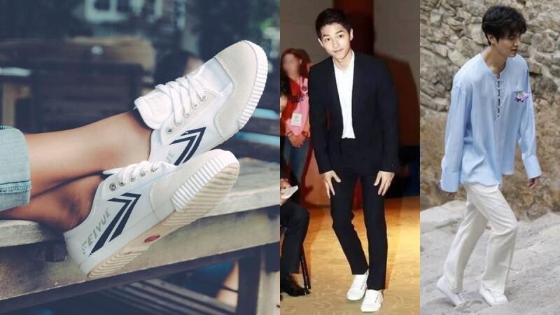 為何宋仲基、朴寶劍、李敏鎬都愛穿…這一雙法國小白鞋Feiyue的魅力何其大