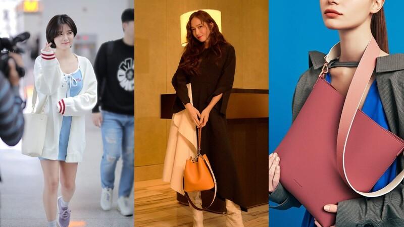最新上架的「胭脂紅」實在太美!Jessica、金裕貞私下外出都愛揹這咖Find Kapoor水桶包