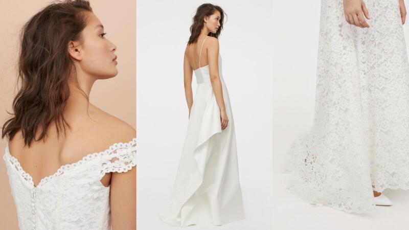 一萬元內搞定婚紗預算!八款來自H&M的時髦清單選,達成你的浪漫婚禮夢!