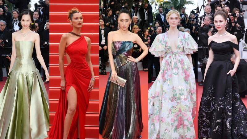 2019坎城影展紅毯直擊!吳可熙、昆凌、鞏俐…女星、超模們的造型全記錄