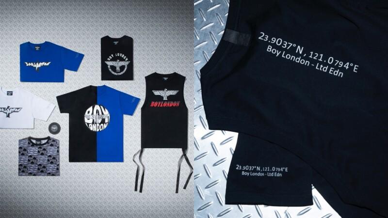 陷阱妹必收!英倫街頭品牌BOY LONDON強勢推出台灣限定版上衣,又潮又辣能不搶嗎?
