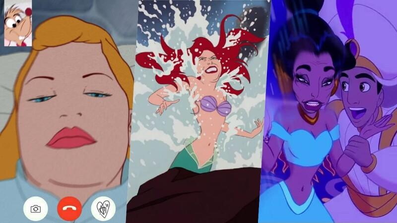 公主們集體崩壞啦!藝術家畫出「迪士尼公主們真實日常」原來睡美人的睡像是這樣......
