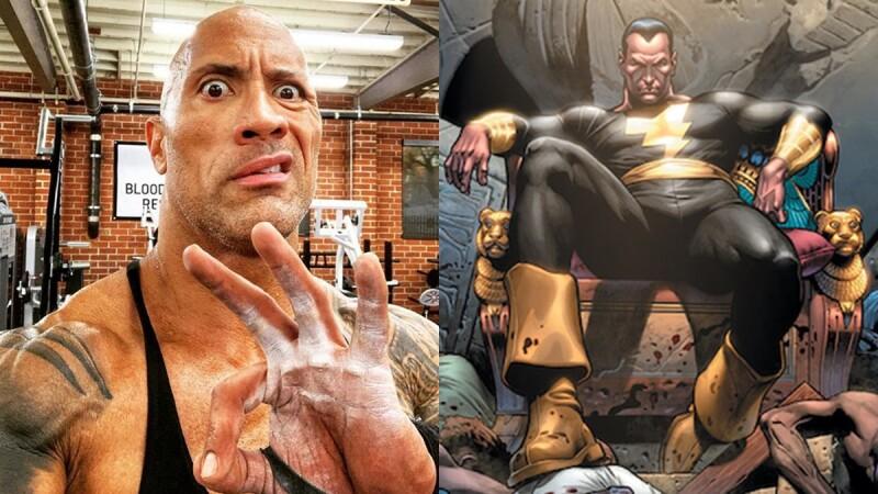 巨石強森主演《黑亞當》超級反派英雄獨立電影即將登場!最Man大隻佬終於正式加入DC宇宙