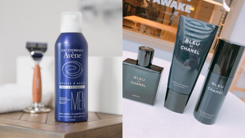 男士保養新品出列!雅漾引進男士系列,全亞洲只在台灣獨賣,香奈兒也推出男性刮鬍霜