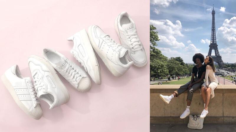 球鞋控M編年度Flag!即將席捲時尚圈的大勢鞋款—「Home of Classics奶油白」系列請準備,這次妳只有ALL IN的選擇!