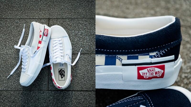 這雙VANS跟原來的不一樣!經典紅標LOGO跑到側邊鞋身,Slip-On CAP解構系列推出新色