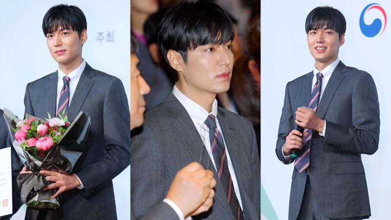 穿上西裝這樣帥!李敏鎬接任韓國「世宗學堂宣傳大使」,儒雅的書香魅力,真是什麼都能勝任啊!