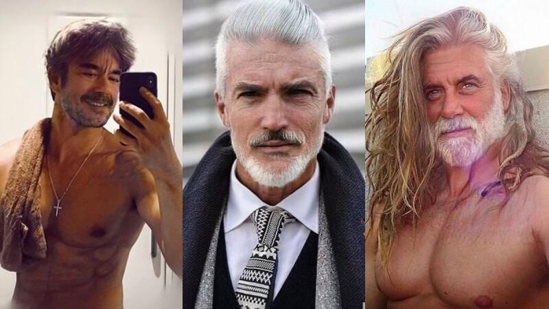 超夯FaceApp老臉挑戰你跟上了嗎?白髮、皺紋依然魅力不減,這些IG帥哥鮮肉怎麼還是越老越帥啊