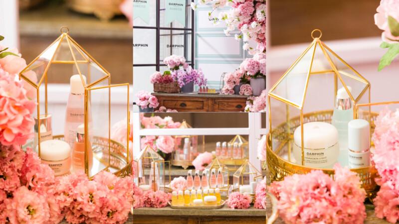 超療癒!Darphin朵法打造巴黎街頭浪漫粉紅花店,無壓體驗 輕鬆就能找到自己的命定保養