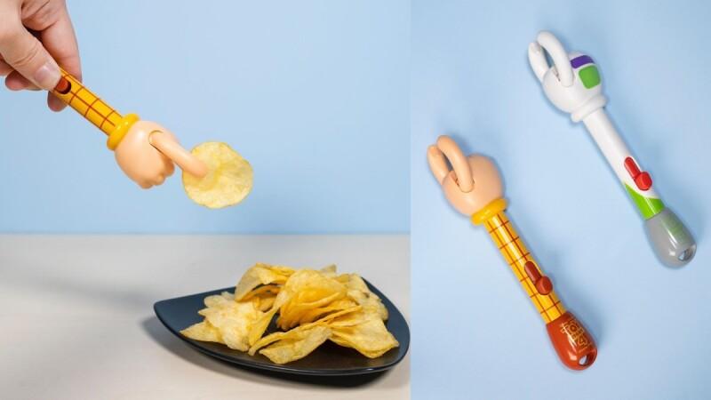 胡迪、巴斯光年要餵你吃零食!「玩具總動員洋芋片手夾」開賣,狂吃也不怕手油、幸福感加倍❤