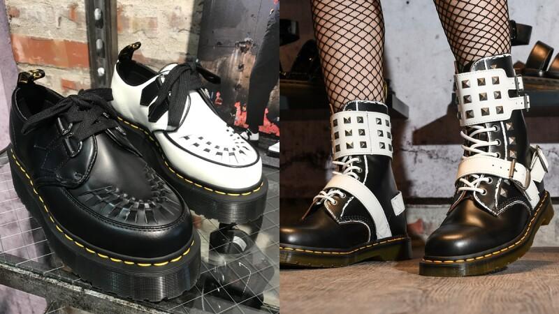 酷女孩必入手!Dr.Martens推出龐克風「STUD PACK」系列,還有厚底編織「Quad Creepers」尖頭鞋